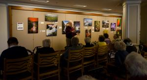 Photo from Exhibit Opening at the Massry Residence